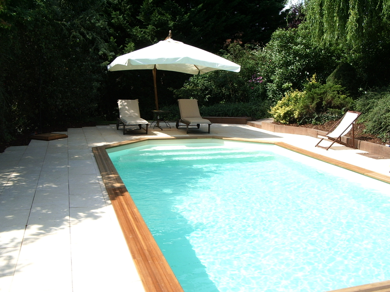 Piscine bois 4x8 for Piscine hors sol wood grain
