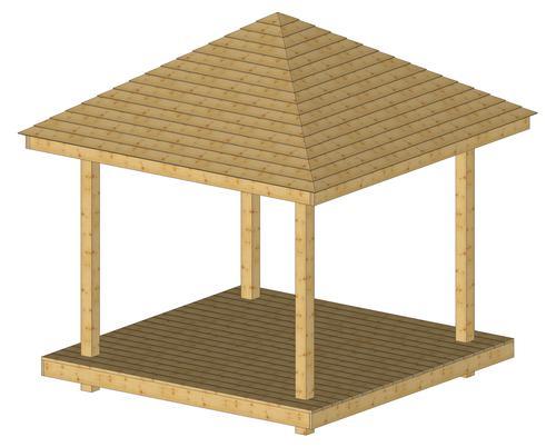 Pavillons en bois, abris en bois : Wood-Line, constructions en bois